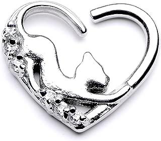 titanium daith jewelry