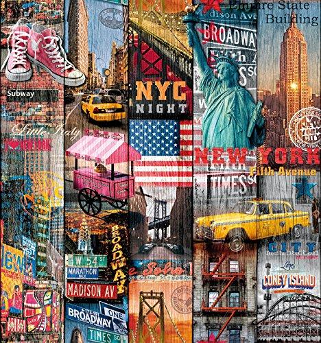d-c-fix®, carta adesiva in vinile, motivo Manhattan, 346-0661, 45 cm x 2 m