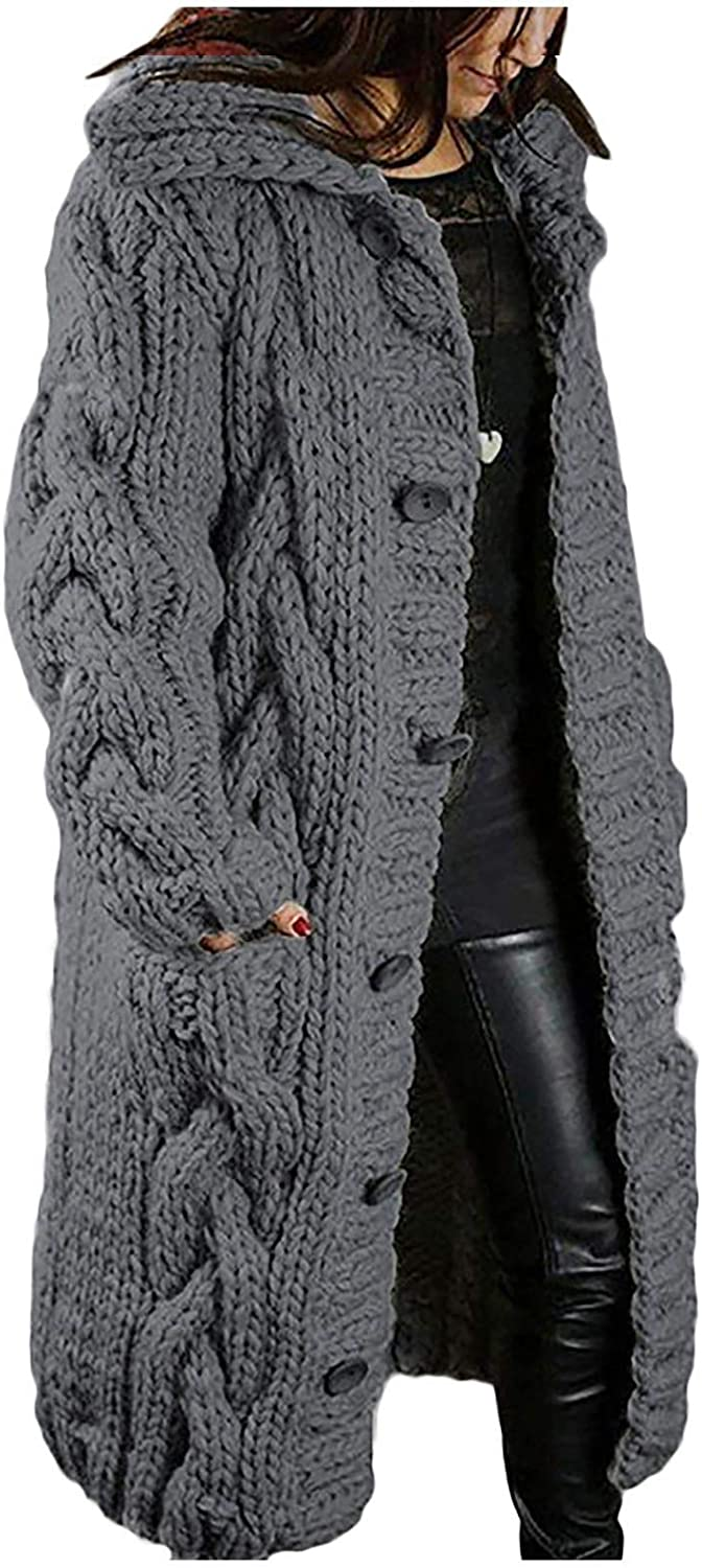 Women Hooded Super sale Cardigan Plus Size Same day shipping L Breasted Single Jacket Sweater