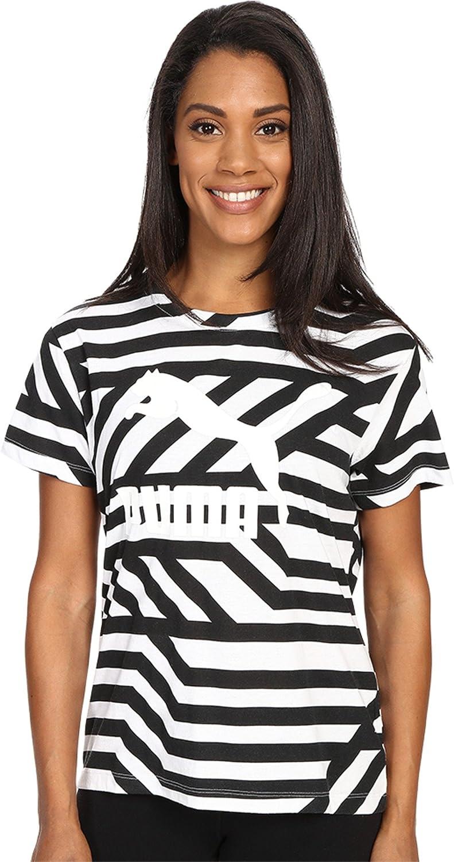 PUMA Women's Classics All Over Print T-Shirt