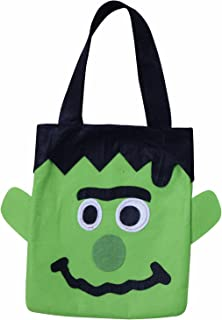 TII Halloween Felt Trick or Treat Bag - Frankenstein