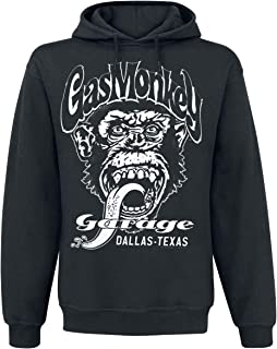 Hoodie Dallas Texas GMG Logo Official Mens Black Pullover