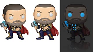 Funko Pop! Marvel: Avengers Game - Thor (Glow in The Dark), Amazon Exclusive