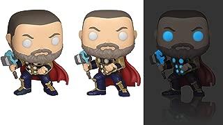 Funko Pop! Marvel: Avengers Game - Thor (Glow in The Dark), Amazon Exclusive