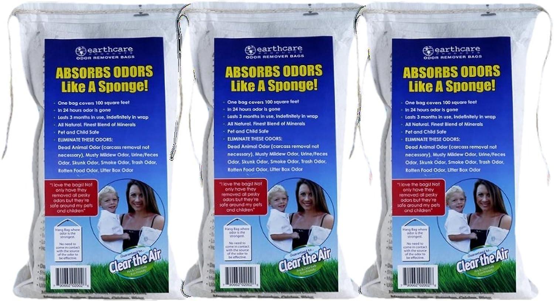 Earth Care Odor Removing Bag Stinky Smells Pet Odor