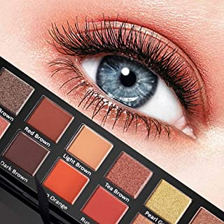 Kayla-Ism Eyeshadow Makeup Palette | 14 shades with pop colors | Smooth and creamy texture | Highly pigmented and long-lasting colors for professional makeup