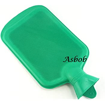 Asbob® hot water bags for pain relief non-electrical (2 Litre - Green)