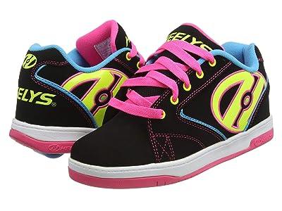 Heelys Propel 2.0 (Little Kid/Big Kid/Adult) (Black/Neon Multi) Girl
