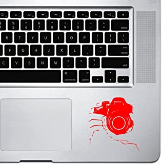 StickAny Palm Series Holding DSLR Camera Sticker for Macbook Pro, Chromebook, and Laptops (Default) red 1510-49613