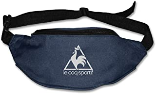 Le COQ Sportif Logo Waist Bag Pouch Travel Pocket Wallet Bum Bag for Running Cycling Hiking Workout