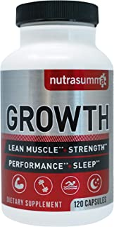 Nutrasumma Growth Hormone Supplement - 120 Capsules Natural Vitamins & Minerals, Lean Muscle Growth, Strength, Endurance &...
