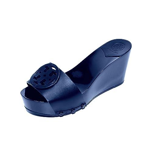 18b1a1dbea7 Tory Burch Miller 80MM Platform Wedge Slides Sandals (8