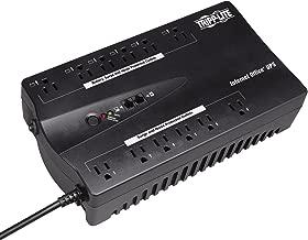 Tripp Lite 750VA UPS Desktop Battery Back Up, 12 Outlet, 450W 120V Standby, Ultra-Compact, USB, 3 Year Warranty & $100,000 Insurance (INTERNET750U)
