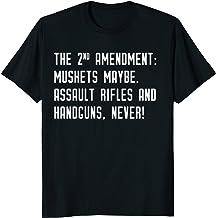 Second Amendment: Muskets Maybe. Assault rifles and Handguns