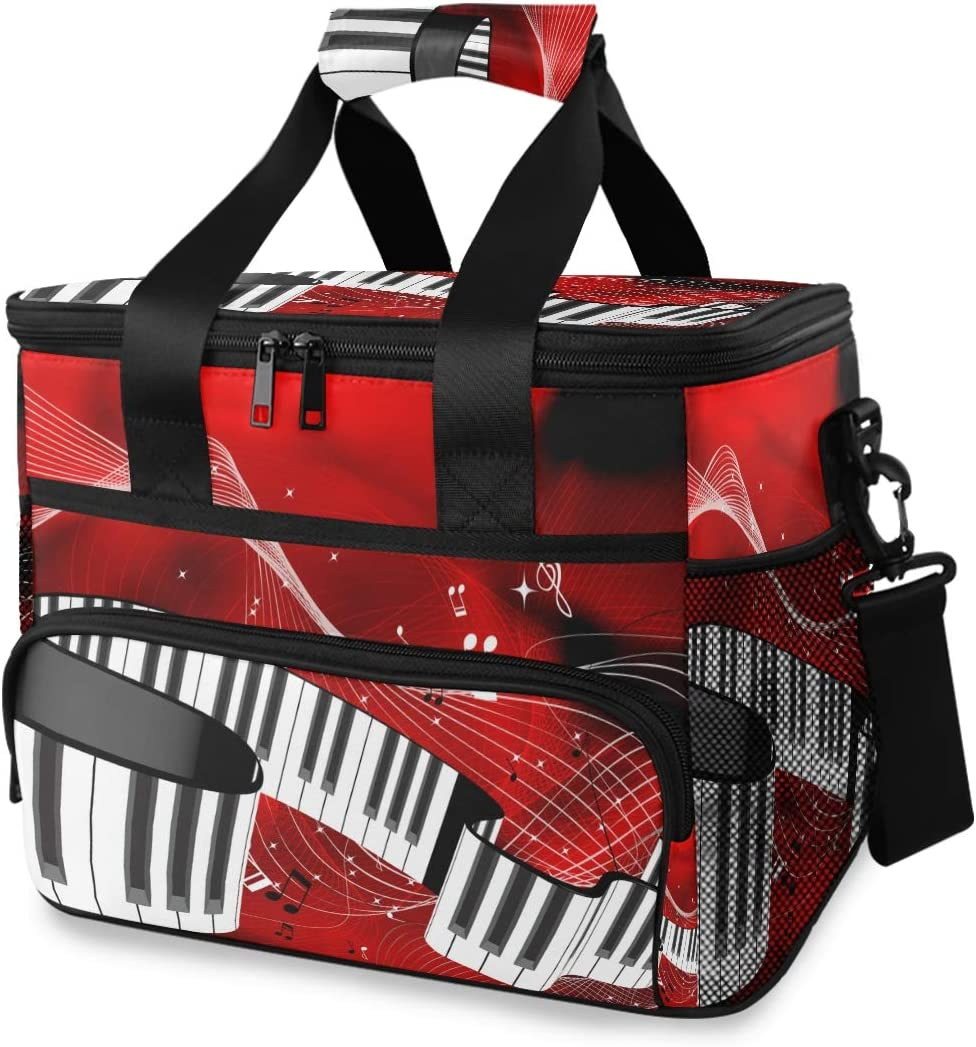 TropicalLife Cooler Lunch At the price of surprise Bag Music Piano Insu Musical Note At the price of surprise Keys
