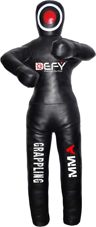 DEFY Leather Jiu Jitsu Oakland Mall MMA SEAL limited product Grappling Dummy Pun Judo Martial Arts
