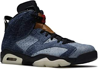 Mens Air Jordan 6 Retro Washed Denim Washed Denim/Black Denim Size
