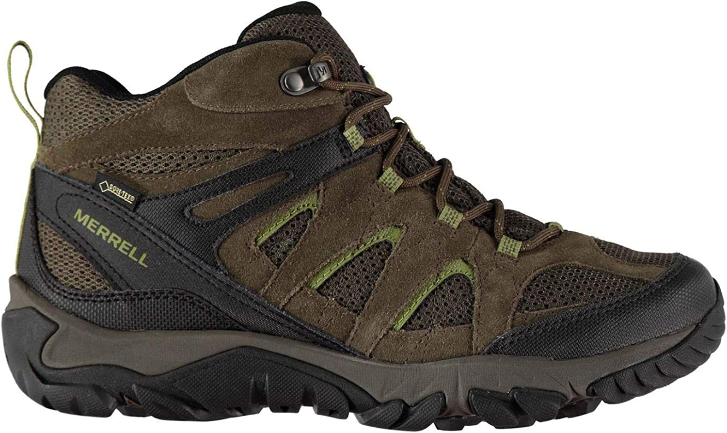 Official Merrell Outmost Ventilator GoreTex Waterproof Walking Boots Mens Hiking shoes