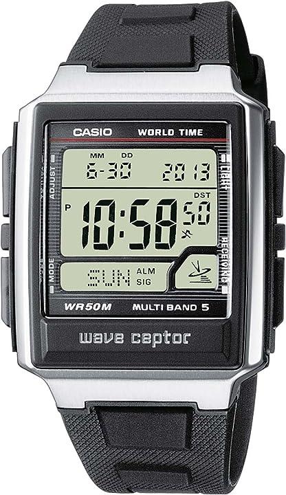 Orologio con ricezione segnale radio - casio wave ceptor WV-59E-1AVEF