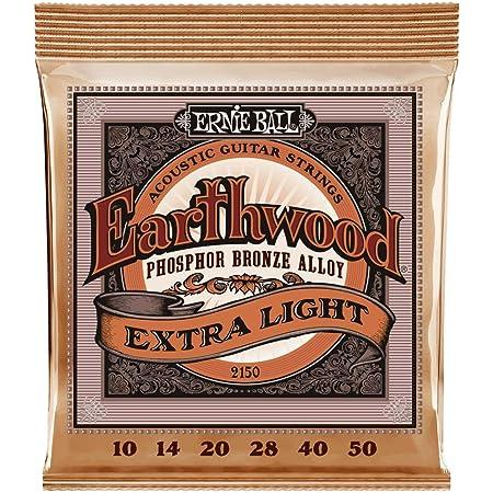 Ernie Ball Earthwood Phosphor Bronze Extra Light (10-50) Acoustic Guitar Strings (P02150)