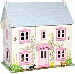 Canoe Rose Cottage Doll House - CT201216RJ111, Multi Color