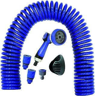 S&M 590030 Manguera Helicoidal, Azul, 35 X 11 X 44.5 cm