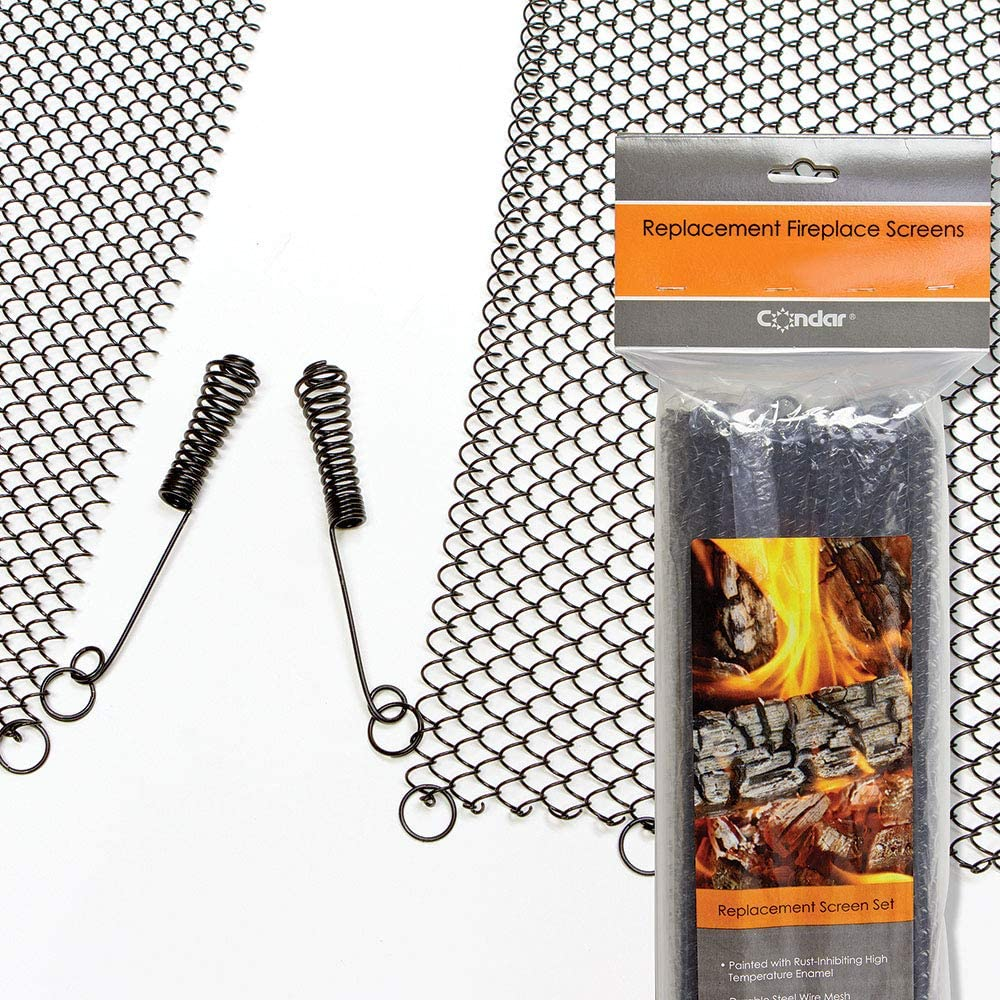 Enhance the Style of Your Fireplace Mesh a Max 44% OFF F Screen. Cheap bargain with Condar