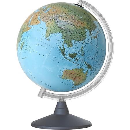 ORBYS 地球儀 スペース7型 球径30cm 地勢図 43340