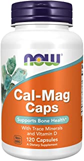 NOW Supplements, Cal-Mag with Zinc, Copper, Manganese and Vitamin D, 120 Capsules
