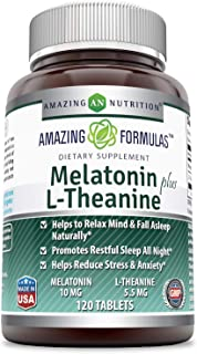 Amazon.com: melatonin - Blended Vitamin & Mineral Supplements ...