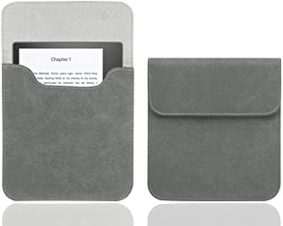 WALNEW 7 Inch E-Reader Sleeve Fits 7'' Kobo Libra H2O 2019 / Kindle Oasis (10th and 9th Gen, 2019 and 2017 Released) Prote...
