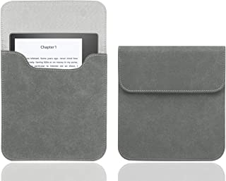 WALNEW 7'' Kindle Sleeve for Kindle Oasis - Protective Insert Sleeve Case Cover Bag Fits Kindle Oasis 10th Generation 2019 / 9th Generation 2017, Gray