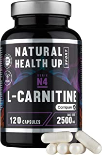 L-Carnitina (Carnipure) Natural Health Up para el
