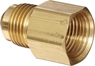 Anderson Metals Brass Tube Fitting, Coupling, 3/8