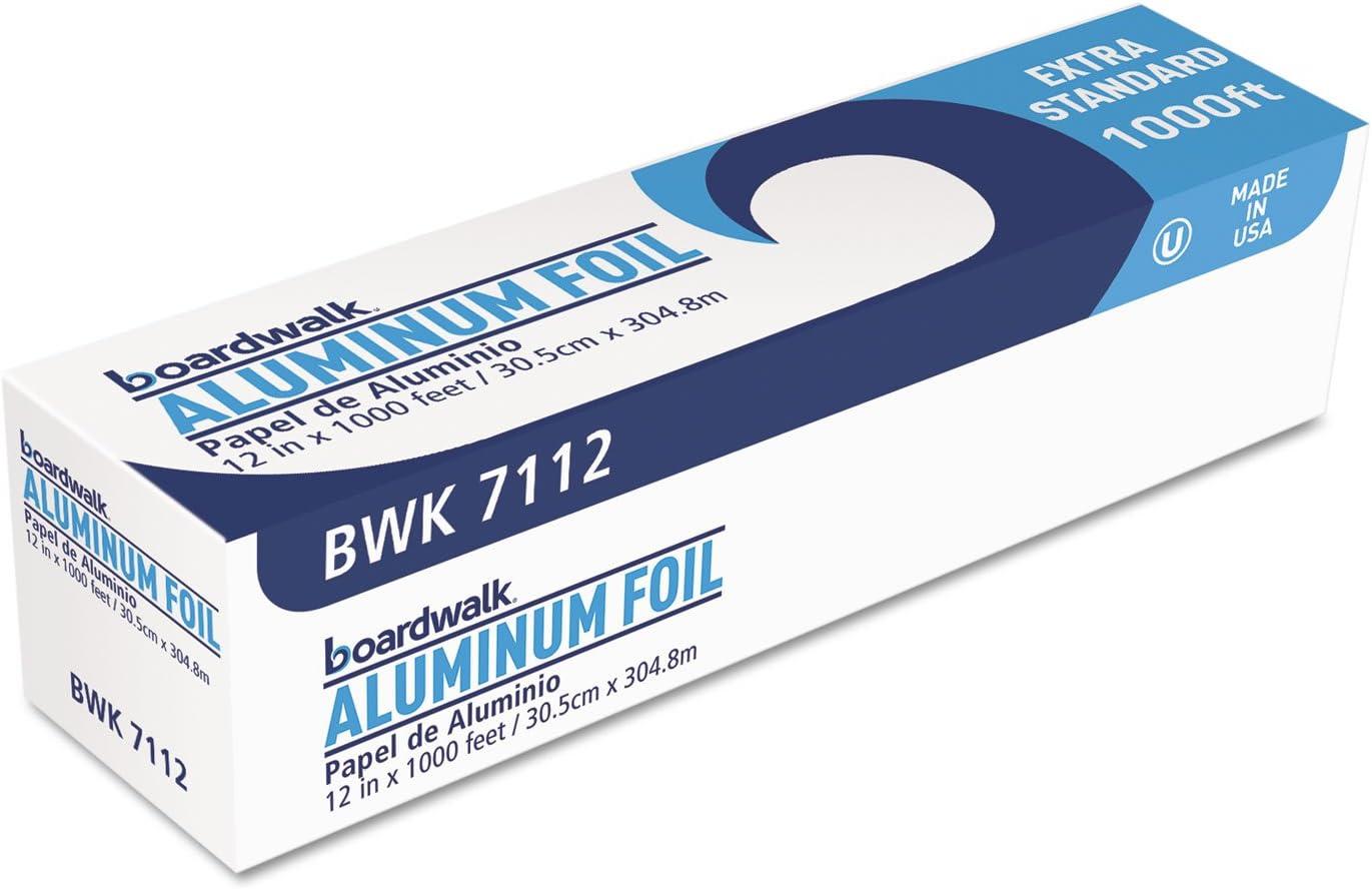 Boardwalk 7112 Premium Now free shipping Quality Aluminum 12-Inch x Roll mart 1000 Foil