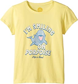 Smiling On Purpose Crusher T-Shirt (Little Kids/Big Kids)