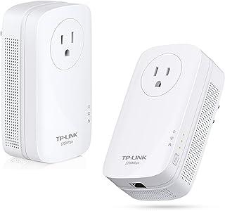 TP-LINK AV1200 1200 Mbit/s Ethernet Blanco 2 pieza(s) - Adaptadores de red PowerLine (1200 Mbit/s, IEEE 1901,IEEE 802.3,IE...