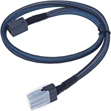EDIMS Internal Mini SAS 4i SFF-8087 to Mini SAS High Density HD SFF-8643 Cable for Internal Hosts and Devices,3.3FT