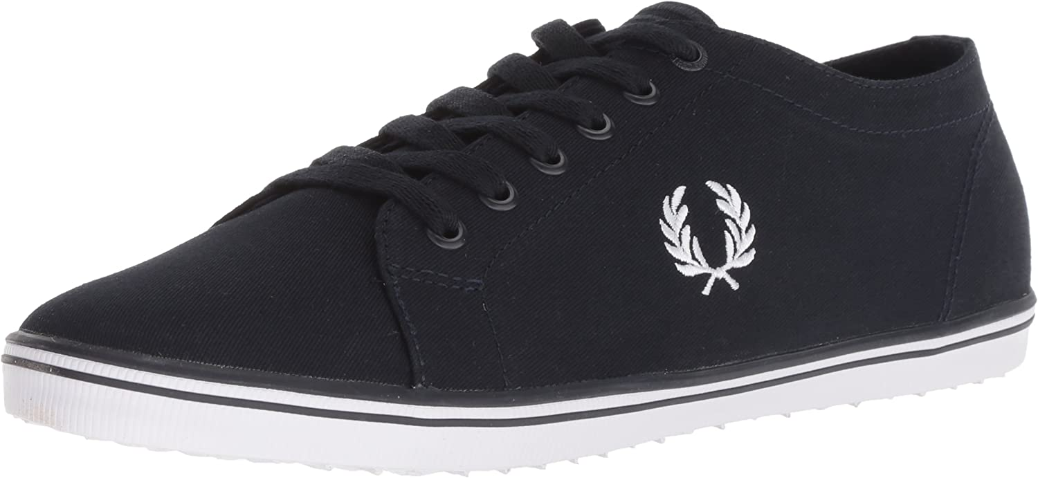 Fred Perry Men's Baseline Leather Sneaker