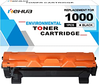 Hehua Compatible for Brother TN1000 TN-1000 Toner Cartridge Use for Printer HL-1110 HL-1112 HL-1210W MFC-1810 MFC-1910W DCP-1510 DCP-1512 DCP-1610W 1-Pack