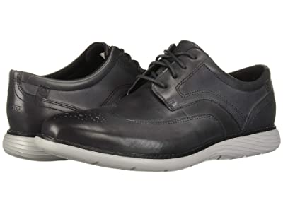 Rockport Garett Wing Tip (Castleorck Grey Gradient) Men