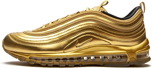 Amazon.com | Nike Mens Air Max 97 QS Leather Trainers | Shoes