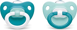 NUK Orthodontic Pacifiers, Boy, 0-6 Months, 2-Pack