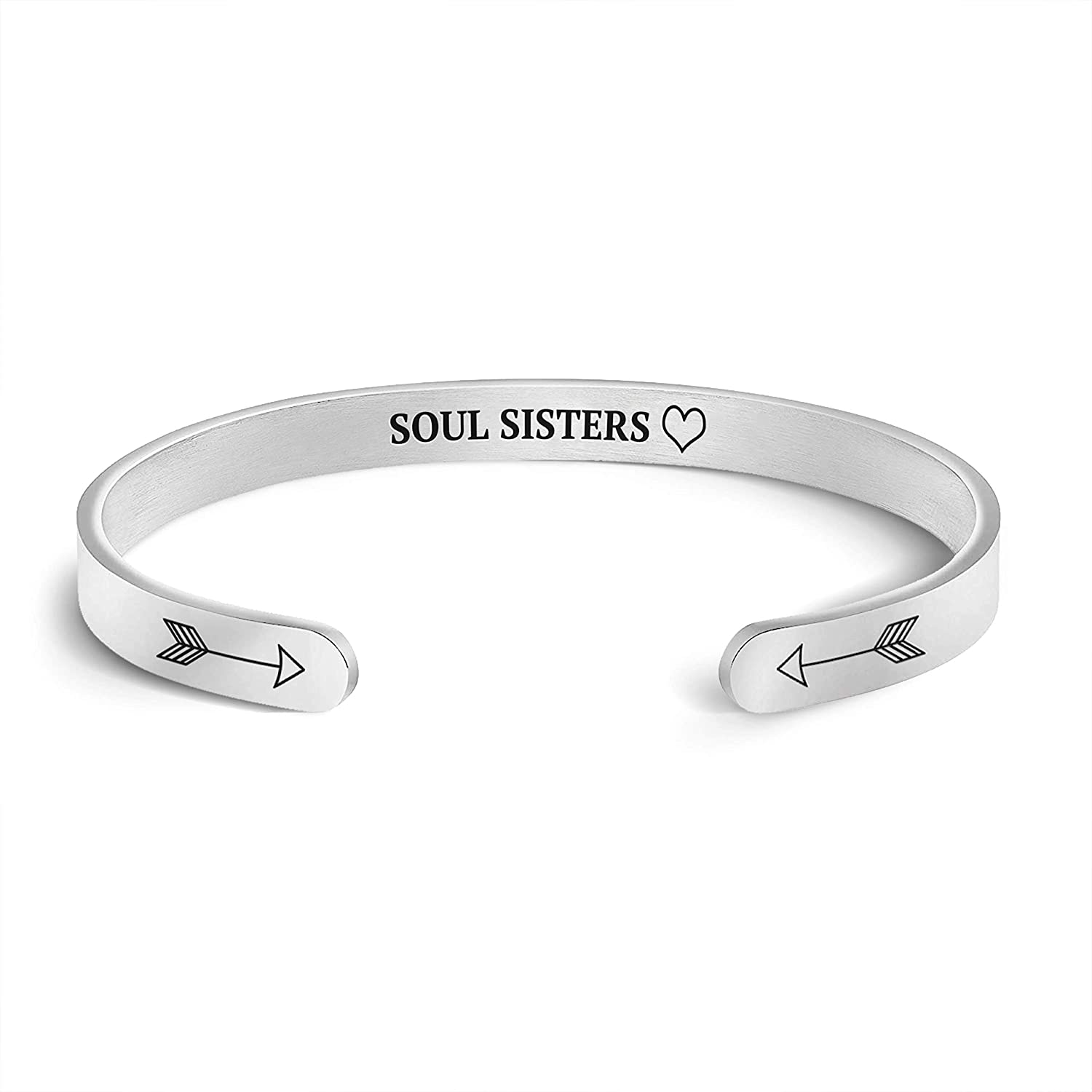 Direct sale of manufacturer Mint Lily Soul 2021 Sisters Cuff Ban Mantra Personalized Bracelet