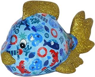 Pomme Pidou Skarbonka ryba, niebieska, kotwica, skarbonka, ryby, świnka skarbonka, prezent pieniężny