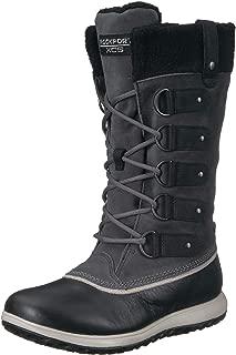 Women's XCS Britt High Boot Snow, Black, 8.5 M US