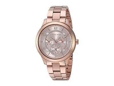 Michael Kors Runway MK6589 (Rose Gold) Watches