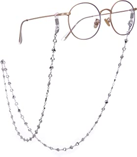 cooltime Silver/Rose Gold/Gold Heart Eyeglass Chain Men Women Eyewear Accessories