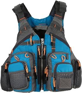 Gecheer  Outdoor Breathable Padded Fishing Life Vest Superior 209lb Bearing Life Safety Jacket Swimming Sailing Waistcoat...
