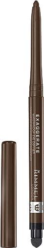 Rimmel London Exaggerate Waterproof Eye Definer, Rich Brown, 5g